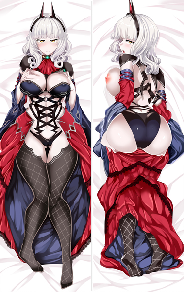 FateGrand Order Carmira Anime Dakimakura Japanese Love Body Pillow Cover