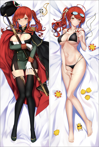 Azur Lane Zara Dakimakura 3d pillow japanese anime pillowcase