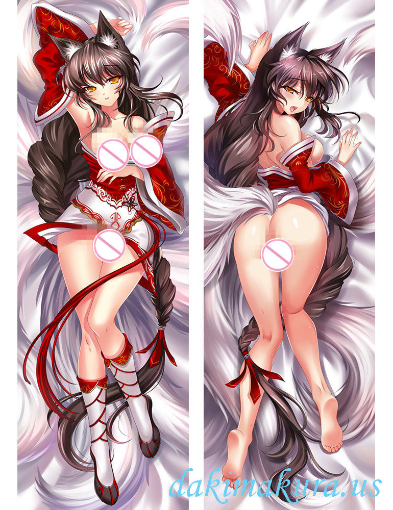 Ahri - League of Legends Anime Dakimakura Japanese Love Body Pillow Cover