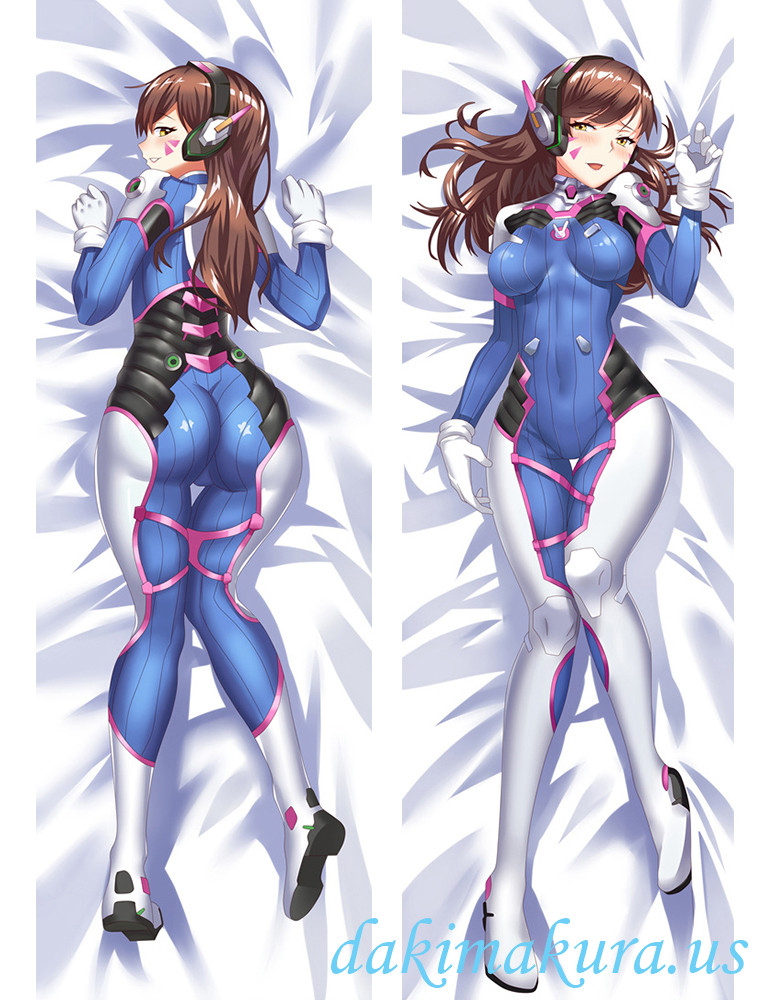 D.Va - Overwatch Anime Dakimakura Japanese Love Body Pillow Cover