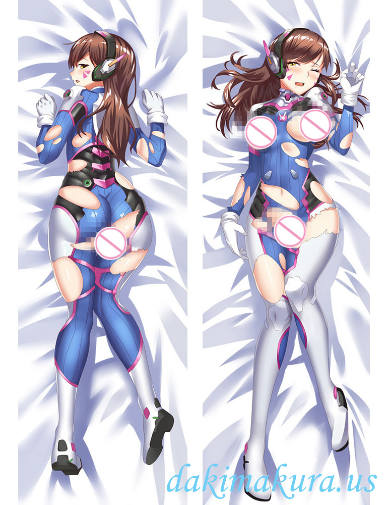 D.Va - Overwatch Anime Dakimakura Japanese Hugging Body Pillow Cover