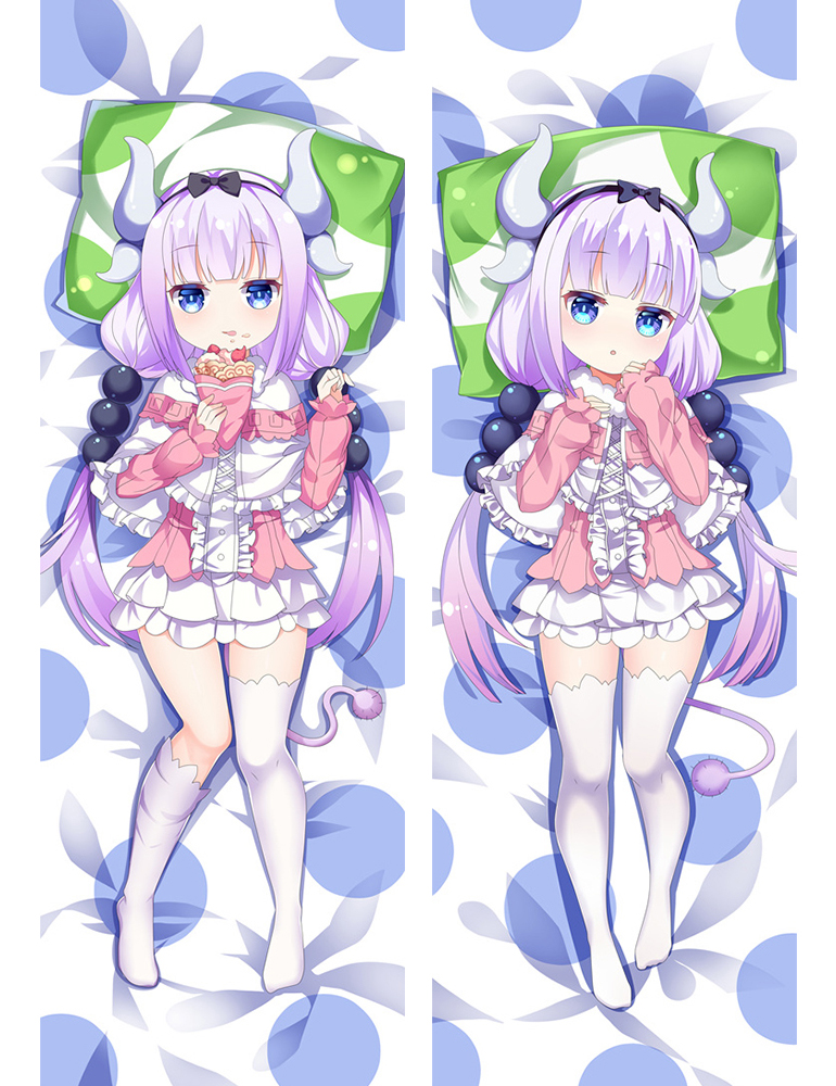 Kanna Kamui - Miss Kobayashi's Dragon Maid Anime Dakimakura Japanese Love Body Pillow Cover