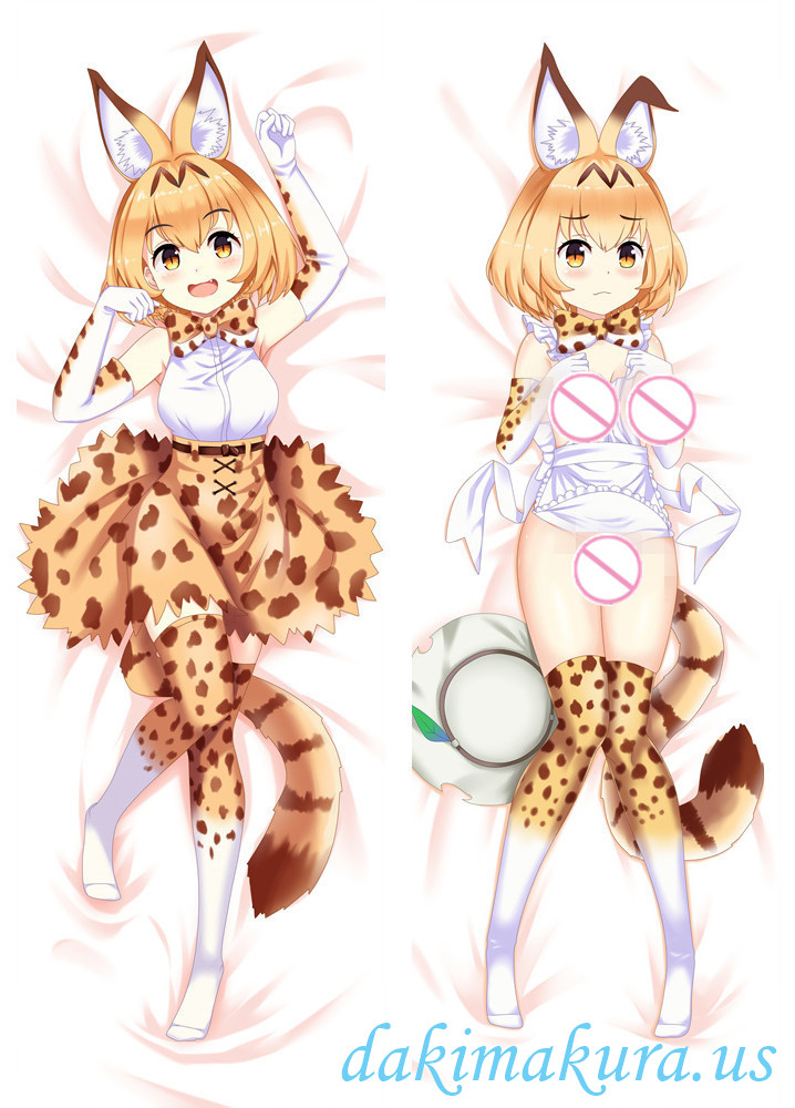 Serval - Kemono Friends Anime Dakimakura Japanese Hugging Body Pillow Cover