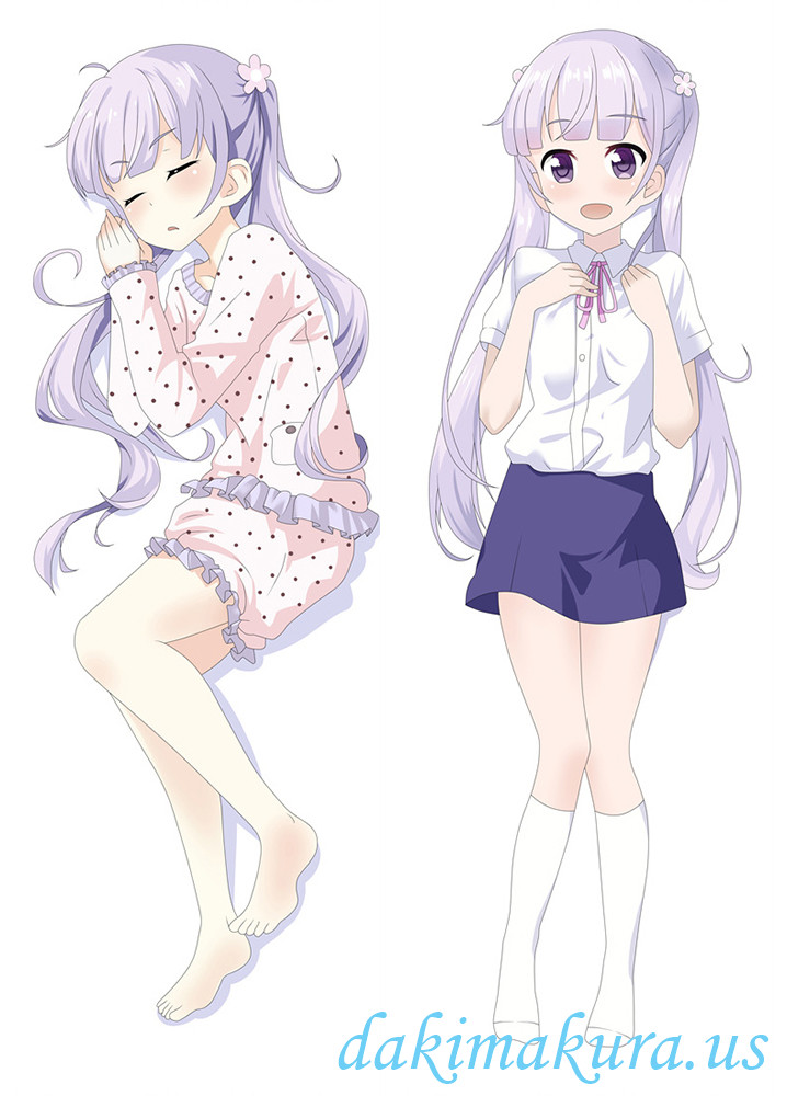Suzukaze Aoba - New Game Long pillow anime japenese love pillow cover