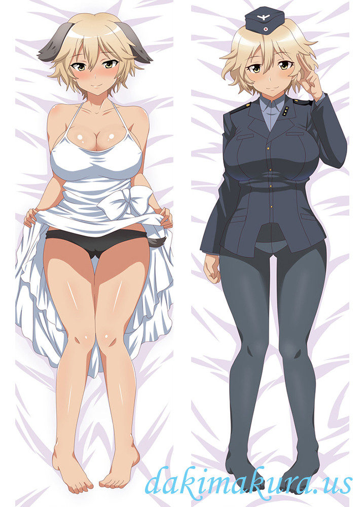 Waltrud Krupinski - Strike Witches Full body pillow anime waifu japanese anime pillow case