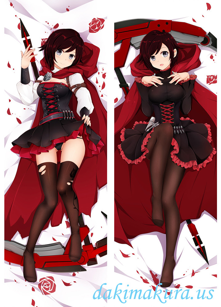 Ruby - RWBY Anime Dakimakura Japanese Hugging Body Pillow Cover